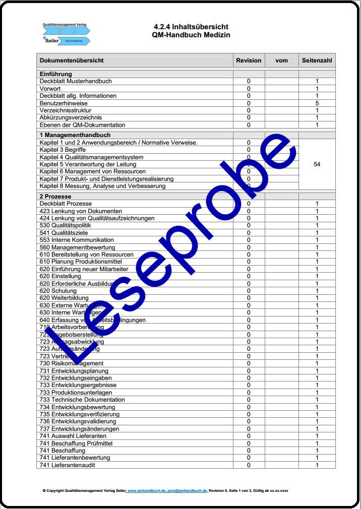 Musterhandbuch Handwerk nach DIN EN ISO 9001:2008